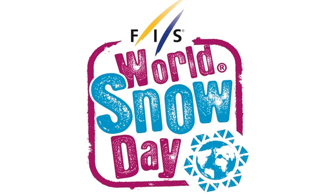 Logotip de l'esdeveniment Worl Snow Day.