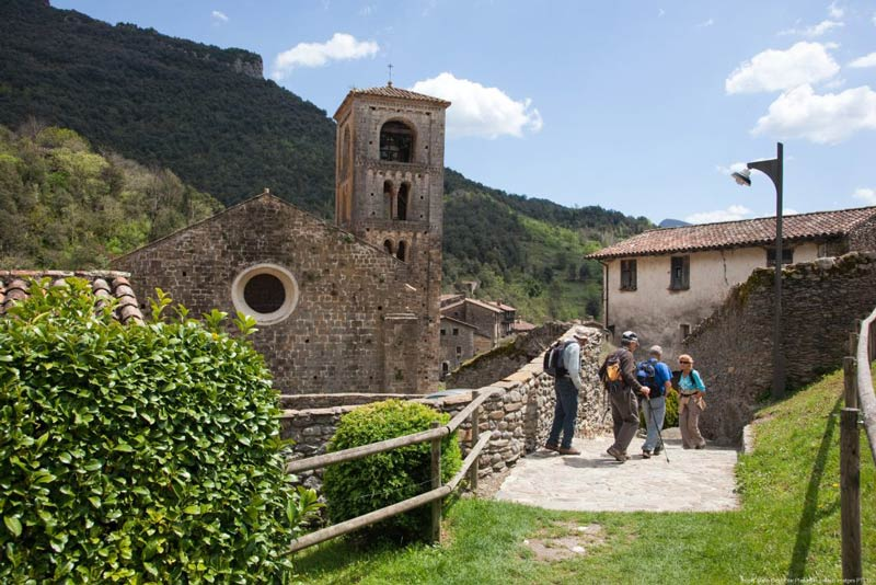Excursionistes a Beget